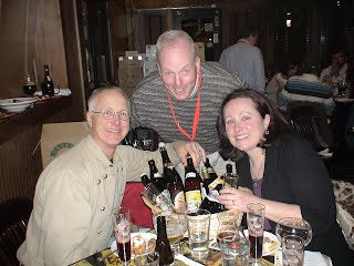 Trappist Dinner guests with Belgian beer expert John Staunton