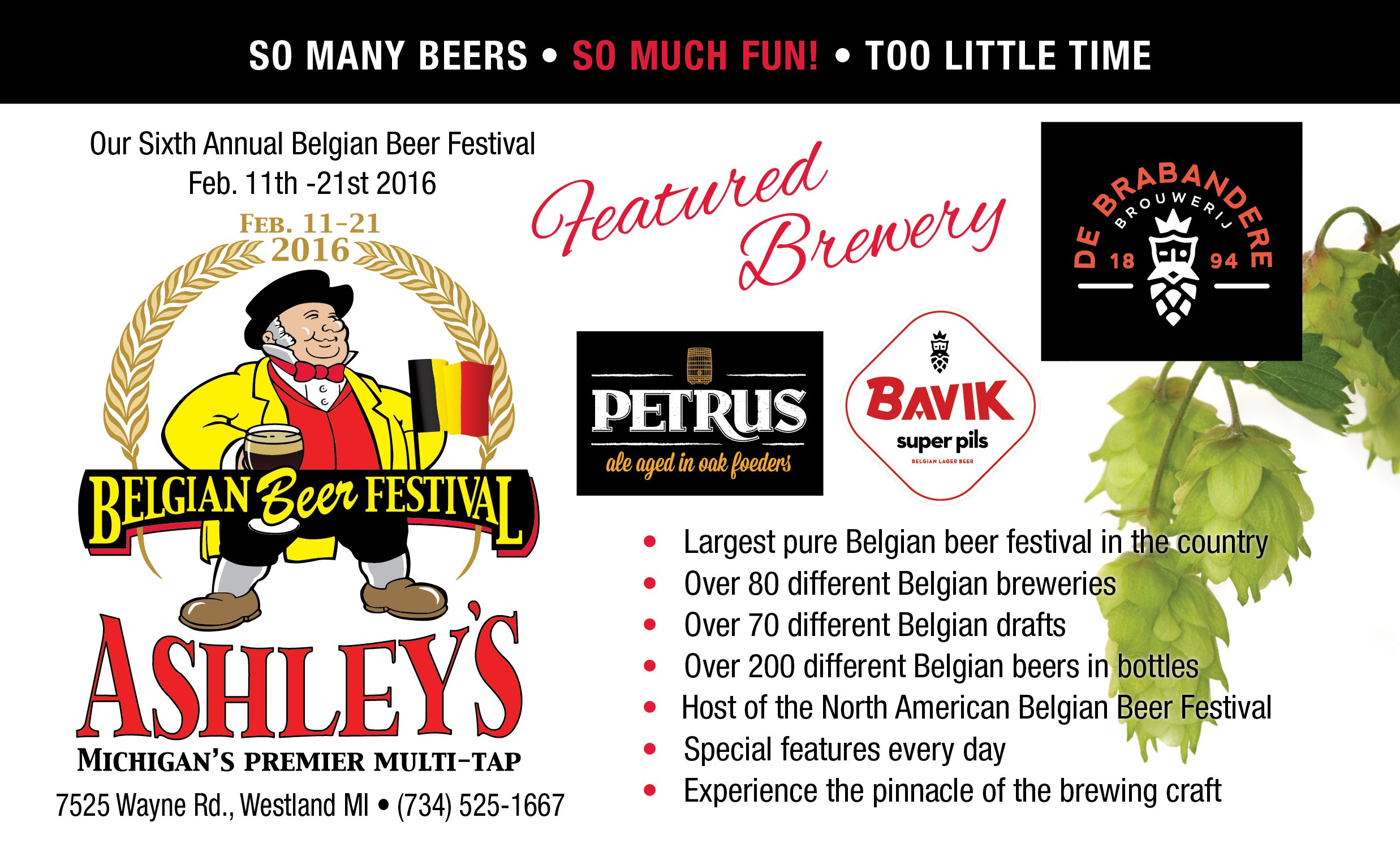 Ashley's Belgian Beer Festival 2016